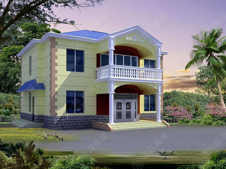 轻型钢结构别墅-6