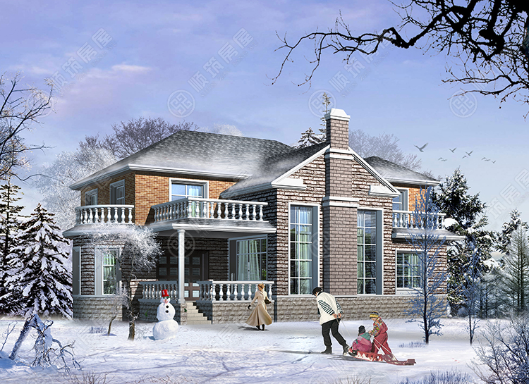 轻型钢结构别墅-10