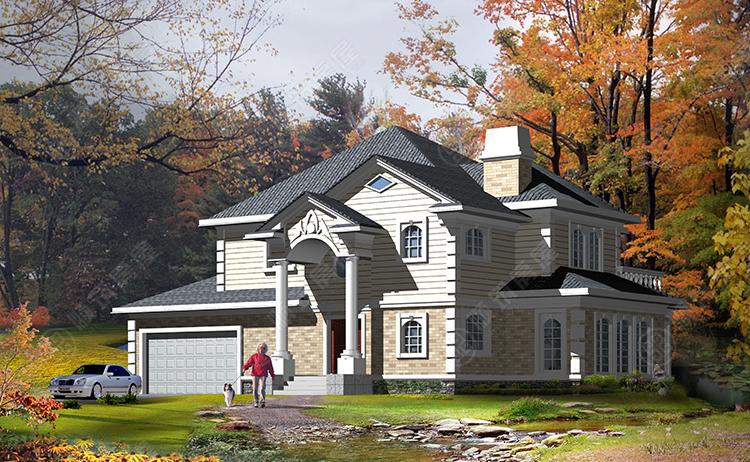 轻型钢结构别墅-11