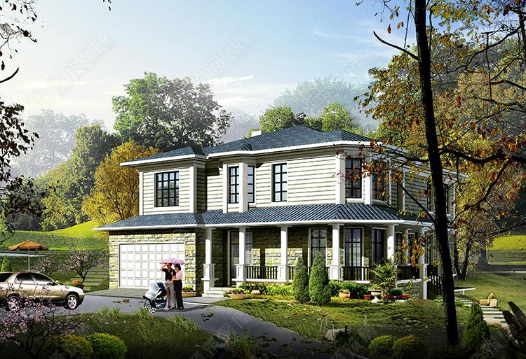 轻型钢结构别墅-12