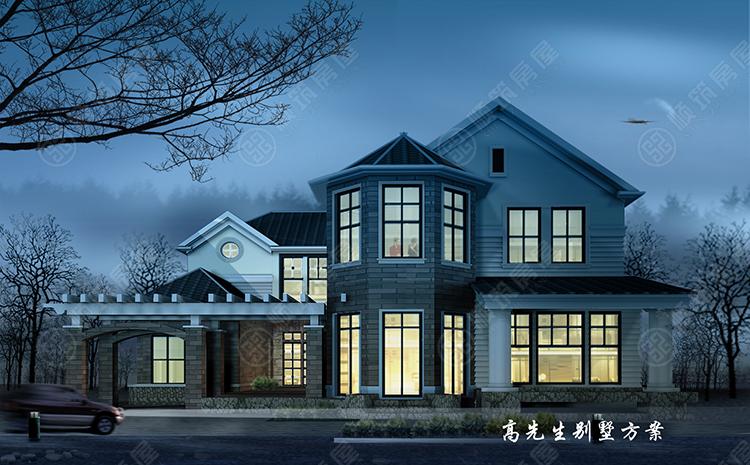 轻型钢结构别墅-13