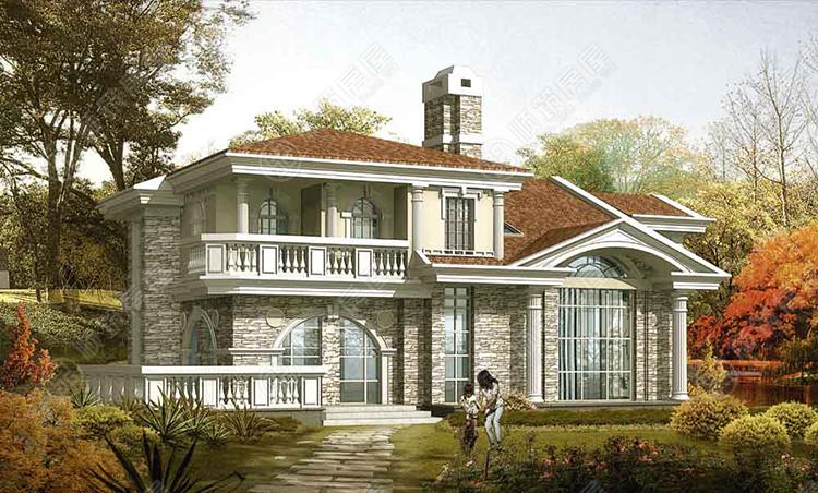 轻型钢结构别墅-14