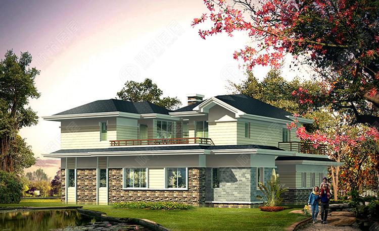 轻型钢结构别墅-16