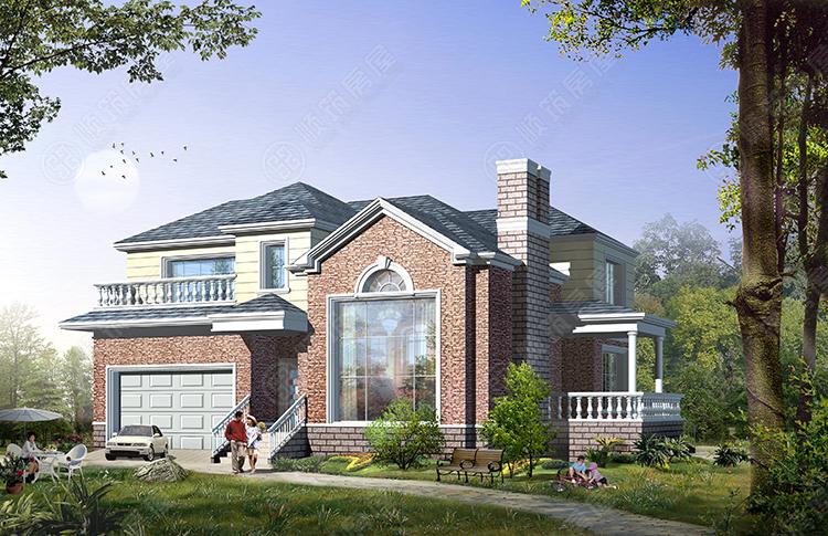 轻型钢结构别墅-17