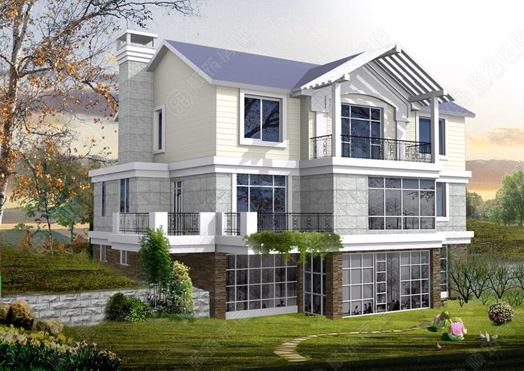 轻型钢结构别墅-18