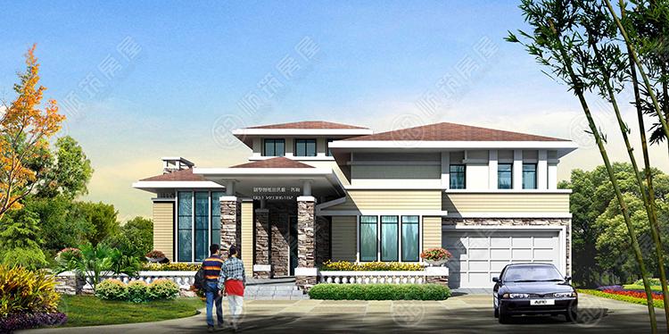 轻型钢结构别墅-20