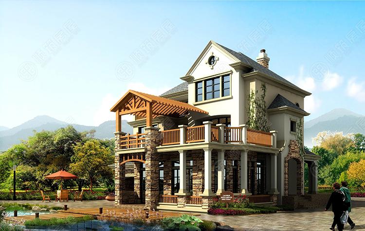 钢结构别墅-2