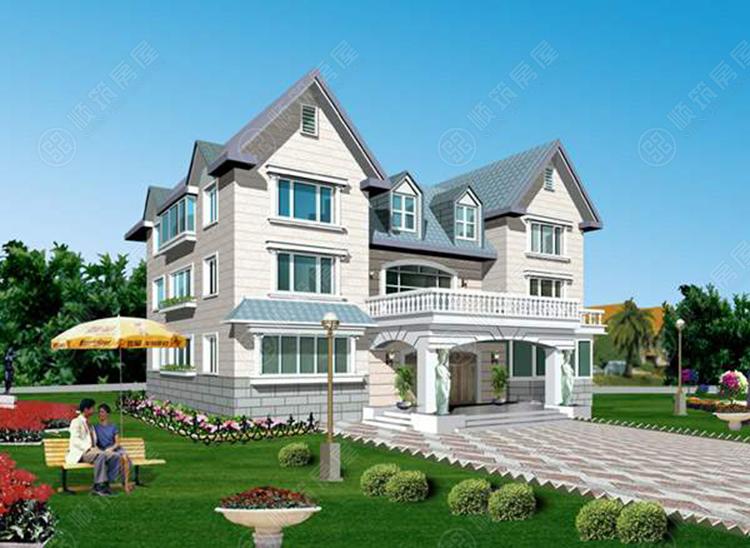 钢结构别墅-3