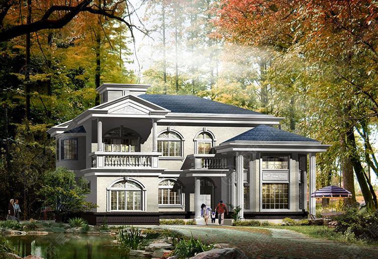 钢结构别墅-4