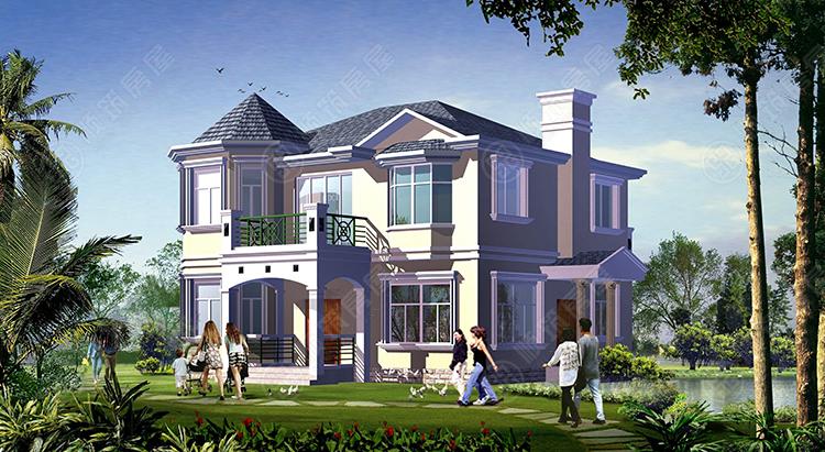 钢结构别墅-5