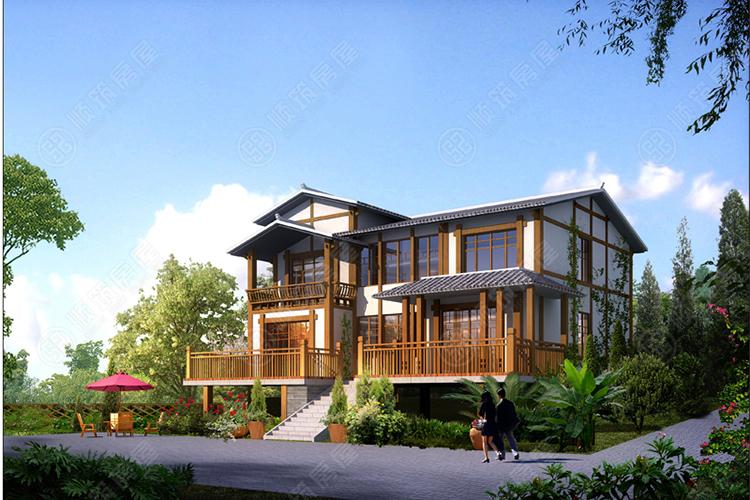 钢结构别墅-6