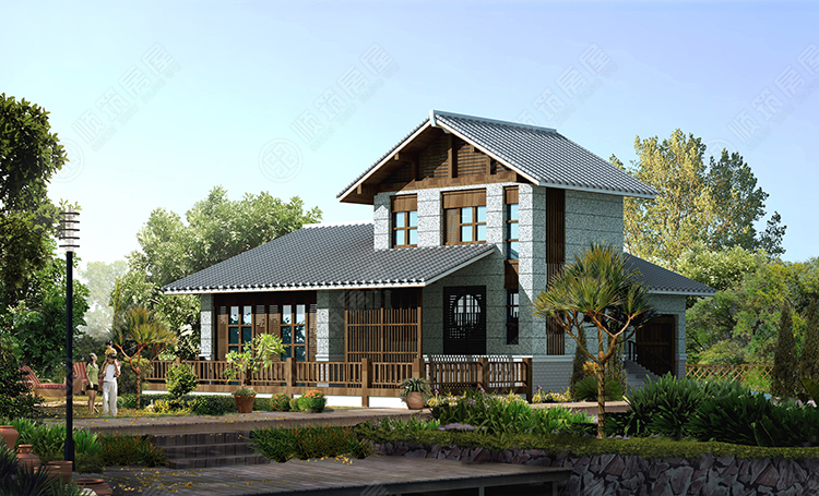 钢结构别墅-7