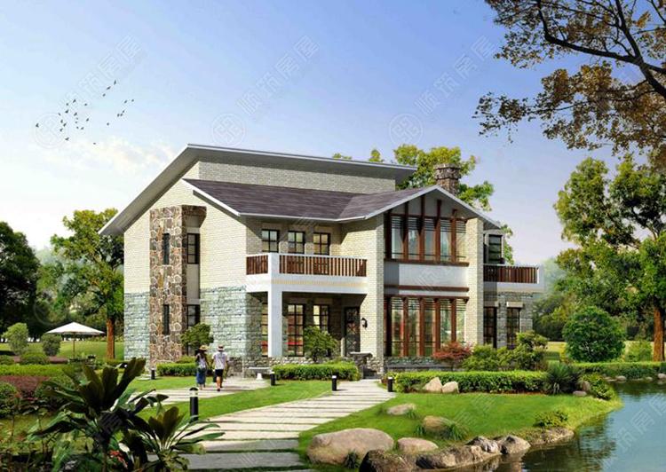 钢结构别墅-8