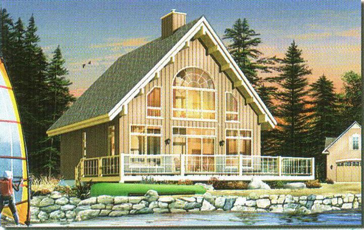轻型钢结构别墅21