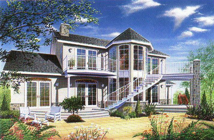 轻型钢结构别墅22