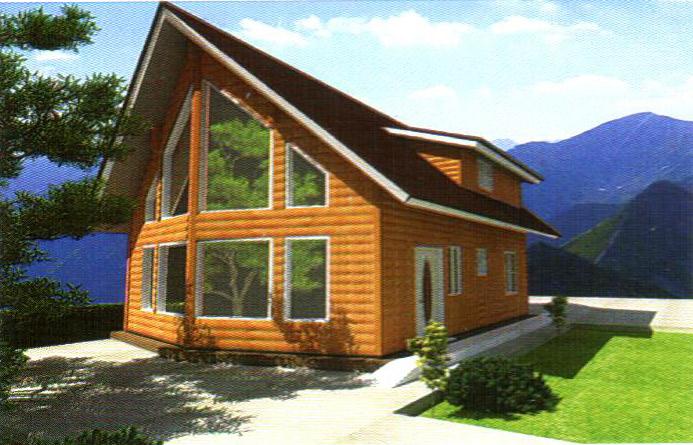 轻型钢结构别墅23