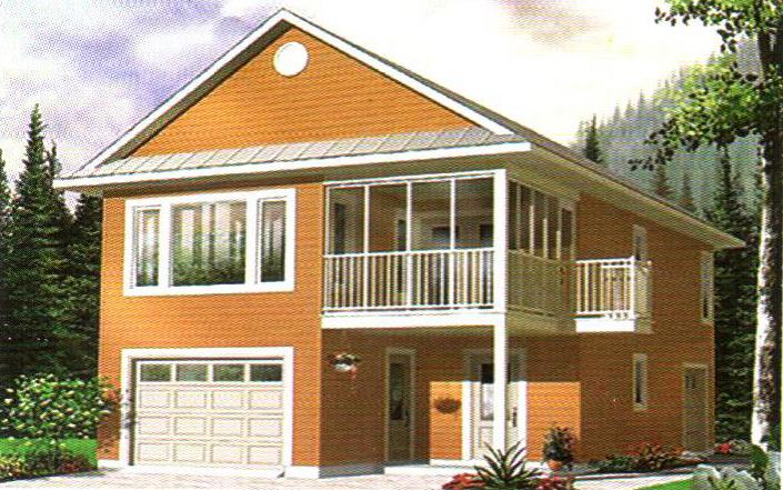 轻型钢结构别墅25