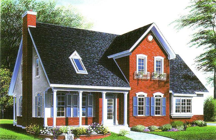 轻型钢结构别墅-26