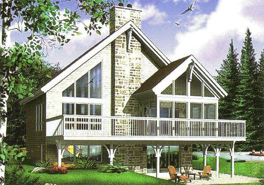 轻型钢结构别墅28