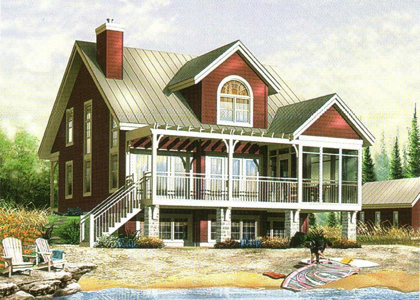 轻型钢结构别墅30