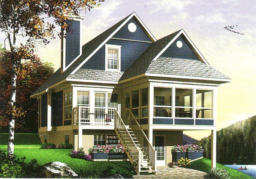 轻型钢结构别墅32