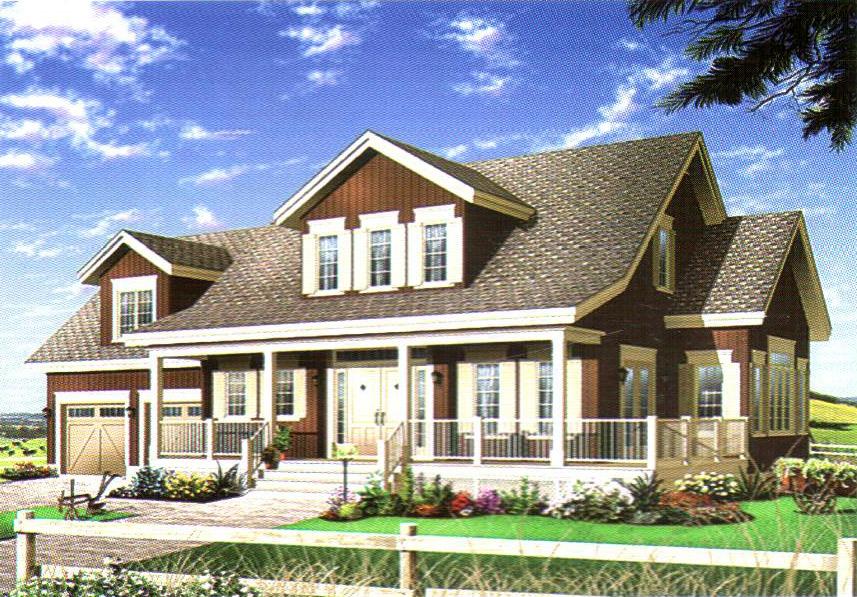 轻型钢结构别墅34