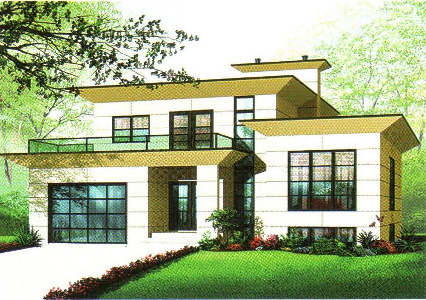 轻型钢结构别墅35